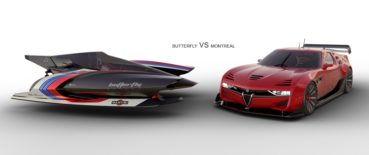 Alfa Montreal VS Butterfly
